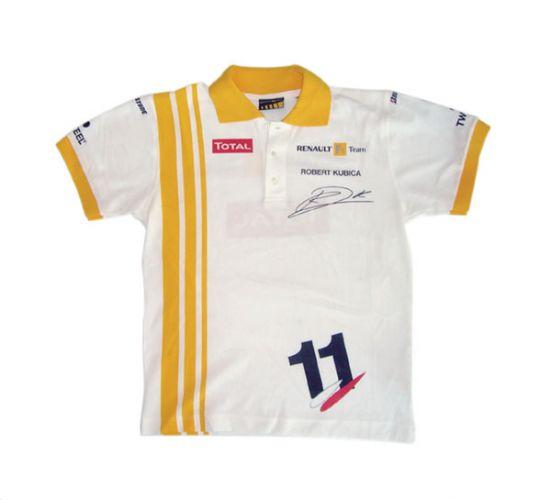 51d190400f06f3 Koszulka polo Renault F1 Team 2010 Robert Kubica nr 11 Edycja Limitowana